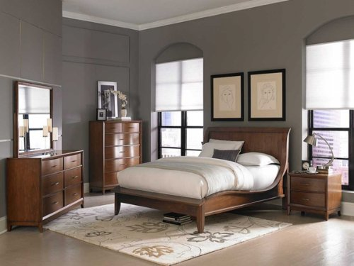 Kasler 5 PC Eastern King Bedroom Set with 2 Nightstand. 5 Piece King Bedroom Sets