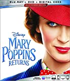 Mary Poppins Returns (Bluray + Dvd + Digital)