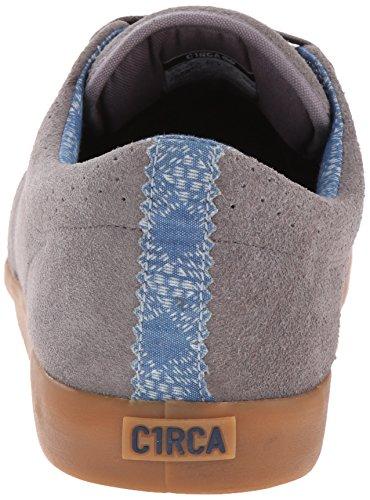C1rca Mens Gel De Chaussure De Patin Transit Bleus Gris / Robe