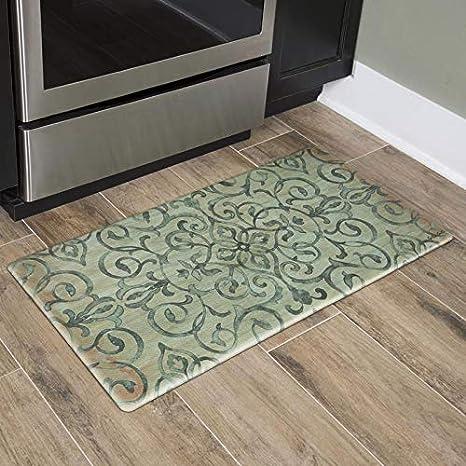 Amazon Com Home Dynamix Nicole Miller Cook N Comfort Kitchen Mat