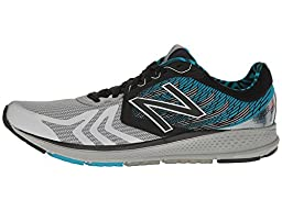 New Balance Men's Vazee Pace V2 Running Shoe, Size: 10.5 Width: D Color: Black/Metallic Silver/Blue