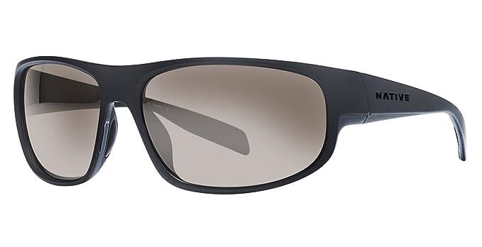 f0df0a350c Native Eyewear Unisex Crestone Matte Black Dark Gray Asphalt Silver Reflex