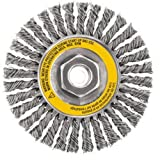 DEWALT Dw4926 4-Inch X 5/8-Inch Stringer Bead Wire Wheel/Carbon Steel, 6-Pack