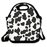 Best PackIt Ladies Lunch Bags - Cow Print Lunch Bags Insulated Travel Picnic Lunchbox Review
