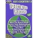 Party Tyme Karaoke: Guy Country, Vol. 3