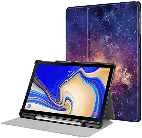 Fintie Case for Samsung Galaxy Tab S4 10.5 2018 Model SM-T830/T835/T837, Super Slim Lightweight Stand Cover with S Pen Protective Holder Auto Sleep/Wake Feature, Galaxy