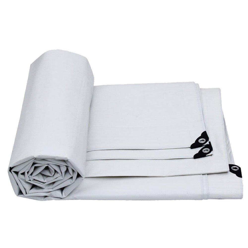 LIXIONG オーニング 両面防水 テント 屋外 シェード カーポート 日焼け止め 通気性のある 断熱 耐候性 15サイズ、カスタマイズすることができます (色 : 白, サイズ さいず : 7.8 × 5.8 m) B07FW4K9L4 7.8 × 5.8 m|白 白 7.8 × 5.8 m