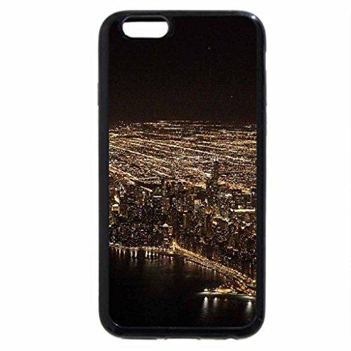 iPhone 6S / iPhone 6 Case (Black) Chicago night