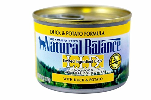 Natural Balance Limited Ingredient Diets Premium Duck & Potato Formula Canned Dog Food, Case of 12