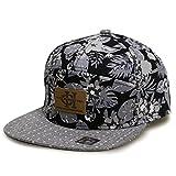 City Hunter Hats Denim Anchor 7 Panel Snapback Hats