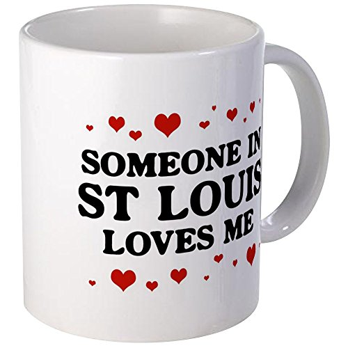 - CafePress - Loves Me In St Louis Mug - Unique Coffee Mug, Coffee Cup