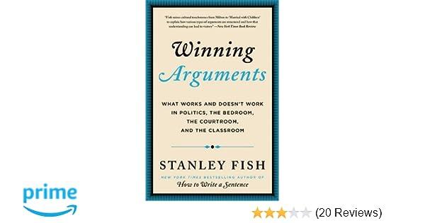 list of political arguments