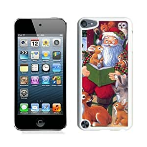Personalization Santa Claus With Animal White iPod Touch 5 Case 1