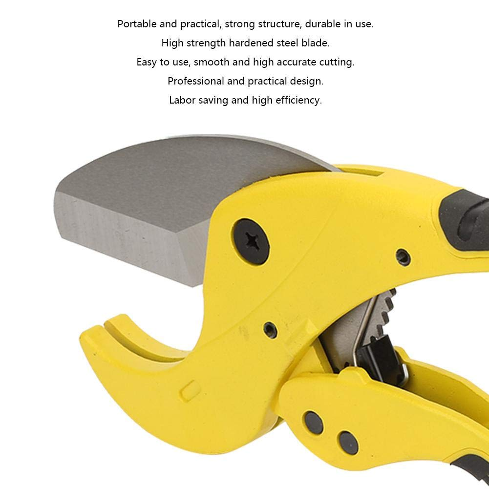 Cortadora de tubos M/áquina cortadora de tubos de acero inoxidable Herramientas de mano port/átiles Cortadores Herramienta de corte resistente para tubos de pl/ástico