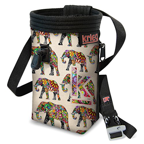 Colorful Elephant Chalk Bag