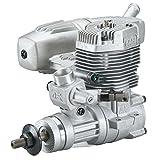 O.S. 55AX Glow-Powered Aircraft Engine with Advanced Bimetallic Liner and Power Box E-3071 Muffler