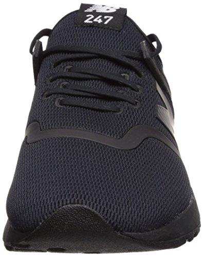 Nouvel Équilibre Mens 247d1 Baskets Noir / Noir