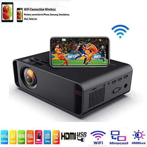 SOTEFE® Mini LED Proyector Portable 4500 Lumens: Amazon.es ...