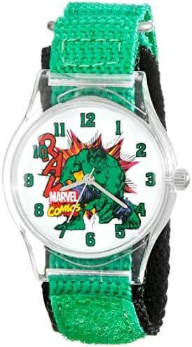 Marvel Kids' W001736 Hulk Analog Display Analog Quartz Green Watch