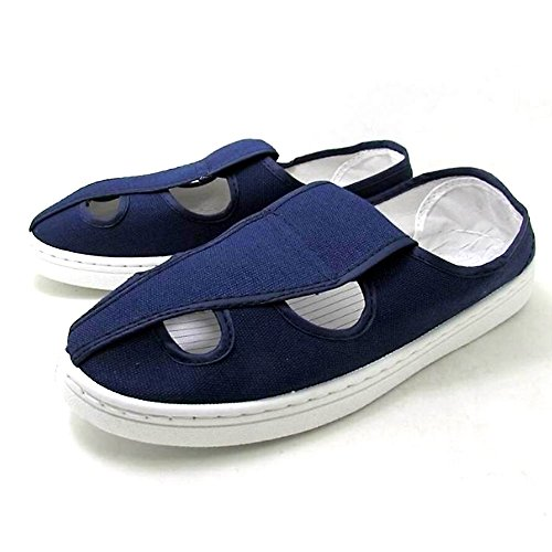 CHNHIRA Men Nonslip Outsole Anti-Static Clean Room Shoes Blue O1Tdq