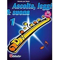 OLDENKAMP - Ascolta, leggi & suona 1 + CD (Flauto Traverso)
