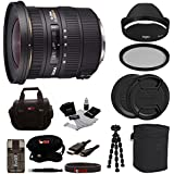 Sigma 10-20mm f/3.5 EX DC HSM Autofocus Zoom Lens for Canon Bundle