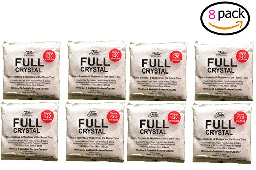 Full Crystal Powder,Glass Cleaner for Fuller Brush Full Crystal,Window and All Purpose Cleaner (8)