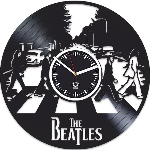 The Beatles Rock Band, Paul Mccartney Lennon, Home Decals, Vinyl Wall Clock, Handmade Best Gift For Musician, Vinyl Record, Kovides, Valentines Day Gift, Beatles Birthday Gift, Unique Design For Sale