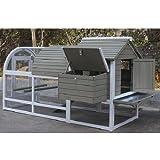 del Verde Mundo Gallinero para gallinas ponedoras de jardín | Mod. amrock