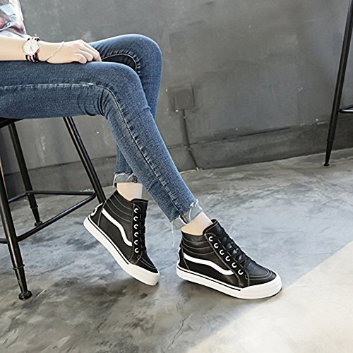 Women Shoes 's Shoes 35 5 Shoes black Shoes Single Sports Shoes Shoes Shoes All Flat High Match EUR Shoes rrqp0dwg