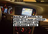 Backup Camera Interface Kit for Audi by CarsGadget.com, OEM Replica, Plug&Play, No Coding. Rear View Camera Fit to 2008-2016 B8 Audi A4, Audi A5, Audi Q5, Allroad with Concert or Symphony Radio