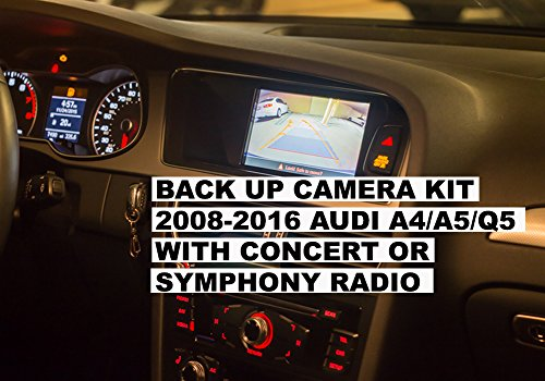 backup camera system interface kit for audi by carsgadget. Black Bedroom Furniture Sets. Home Design Ideas