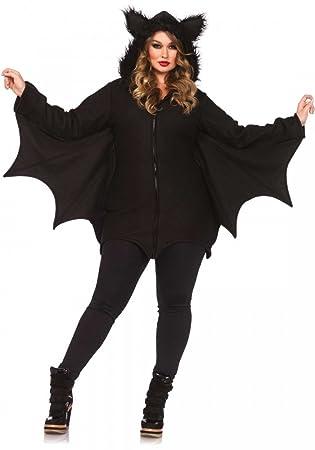 Shoperama Plus Size Damen Kostum Von Leg Avenue Cozy Bat Fledermaus