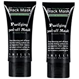 Shills Deep Cleansing Black MASK purifying peel-off mask Facial Clean Blackhead (2 PACK)