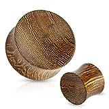 4mm organic plugs - Organic Snake Wood Concave Saddle Plugs Ear Gauges - Sold As Pair (4mm - 6GA)