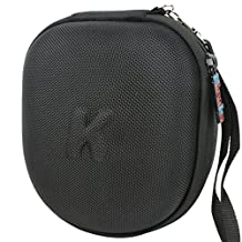 Khanka EVA Carrying Storage Travel Hard Case Cover Bag for Baby BanZ Kids Hearing Protection Earmuff - BLack