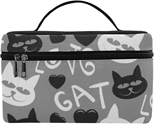 Amazon Com Cat Cute Cat Cat Wallpaper Cat Drawing Cat Tattoo Pattern Lunch Box Tote Bag Lunch Holder Insulated Lunch Cooler Bag For Women Men Picnic Boating Beach Fishing School Work Kitchen Dining