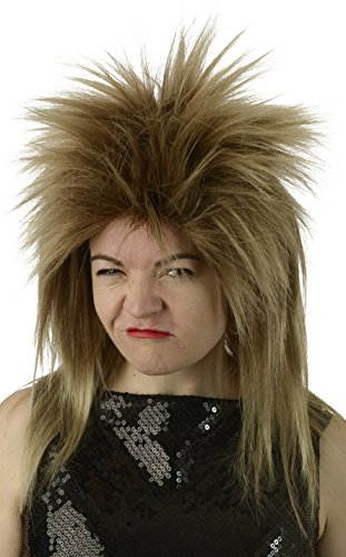 Jareth Labyrinth David Bowie Inspired Cosplay Wig