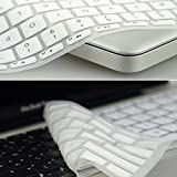 Silicone Keyboard Skin Cover for Apple MacBook Pro Air Mac Retina 13.3 WH - HHmei Apple Notebook Mac Air Pro 13.3 Inch Keyboard Film White