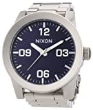 Nixon Corporal Blue Dial Stainless Steel Quartz Men's Watch A346-1258