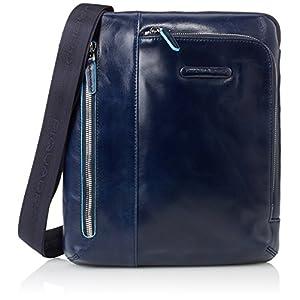 Piquadro CA1816B2 Borsello, Collezione Blu Square, Blu 15