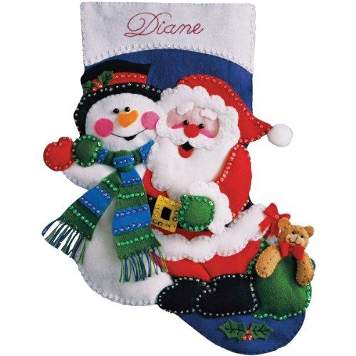 Stocking Kit Snowman - 8