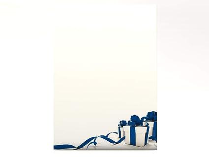 Papel estampado (100 hojas, 90 g/m2), diseño de regalos, color ...