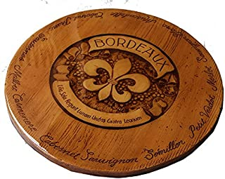product image for French Bordeaux Tabletop Lazy Susan