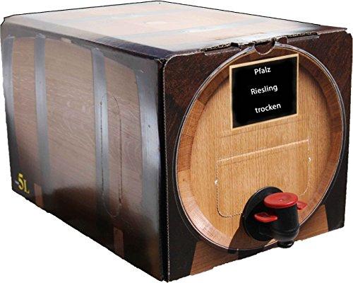 Pfälzer Weißwein Riesling trocken 1 X 5 L Bag in Box direkt vom Weingut Müller in Bornheim