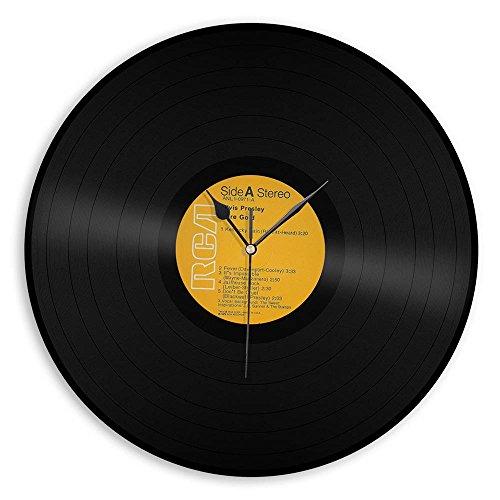 Series Presley Elvis (VinylShopUS Elvis Presley Record Clock Classic Artist Label Series)