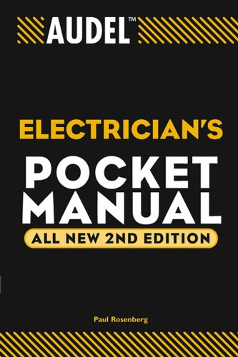 - Audel Electrician's Pocket Manual (Audel Technical Trades Series Book 2)