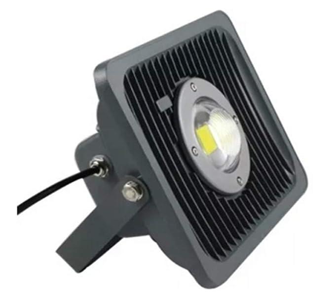 ILUX LED Marine Type Metal Flood Light (Cool White, 50 W)