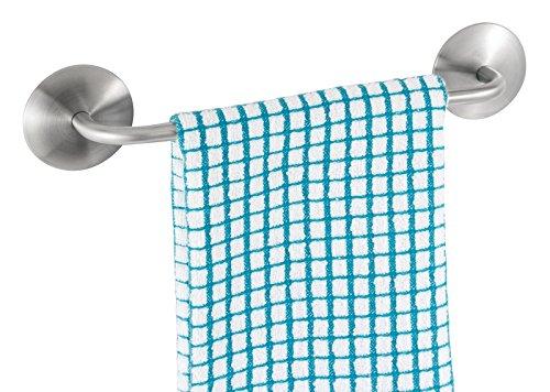 mDesign AFFIXX Adhesive Kitchen Bathroom
