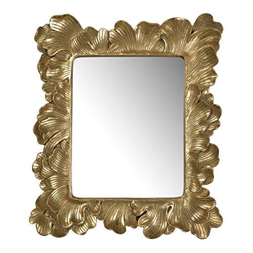 A&B Home Duchess Mirror, Gold, 13 by 2 by -